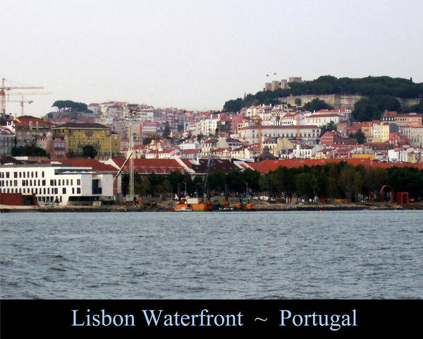 Photograph - Lisbon Water Front Portugal by John Shiron