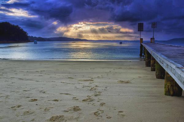 Photograph - Little Beach Sunset by Paul Svensen
