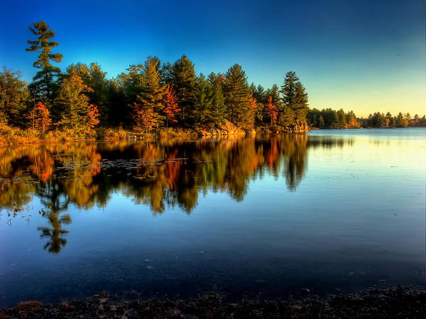 Napanee Photograph - Little Mellon Lake Five by John Herzog