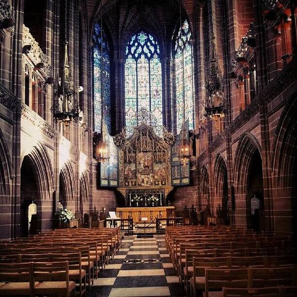 Wall Art - Photograph - #liverpoolcathedrals #liverpoolchurches by Abdelrahman Alawwad