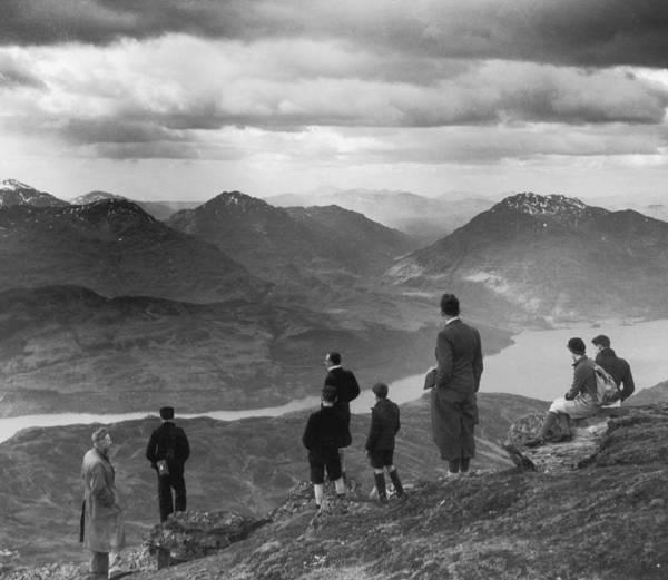 Teenager Photograph - Loch Lomond by Fox Photos