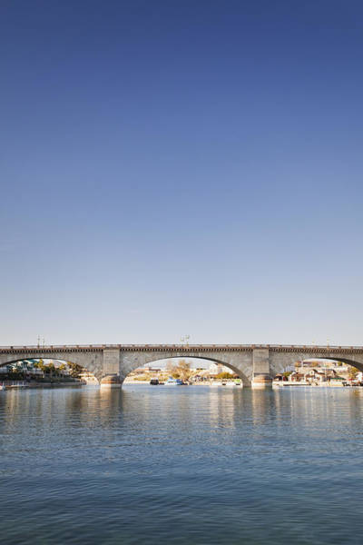 Wall Art - Photograph - London Bridge The Historic Bridge Moved by Bryan Mullennix