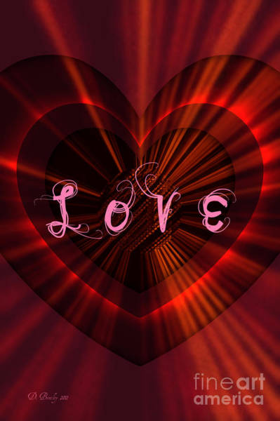 Photograph - Love by Donna Bentley