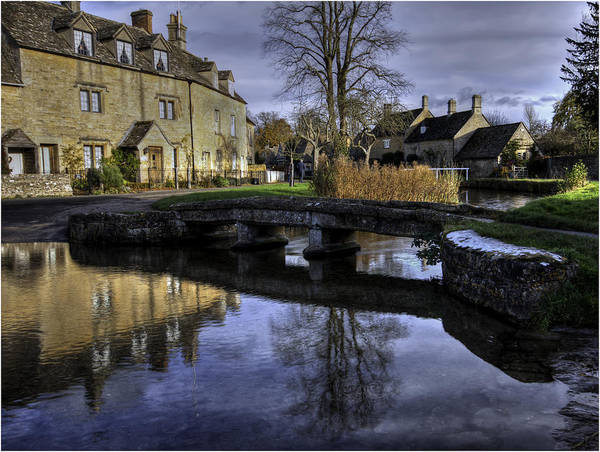 English Cottage Photograph - Lower Slaughter by Nigel Jones