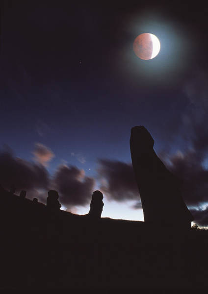 Wall Art - Photograph - Lunar Eclipse by David Nunuk
