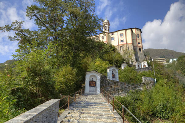 Station Of The Cross Photograph - Madonna Del Sasso - Locarno by Joana Kruse