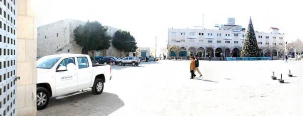 Manger Photograph - Manger Square In Bethlehem by Munir Alawi