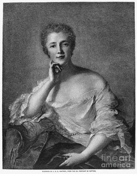 Mistress Photograph - Marquise De Pompadour by Granger