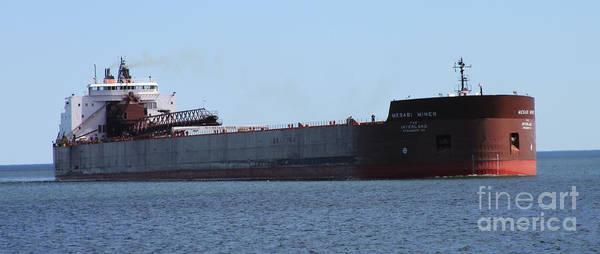Wall Art - Photograph - Mesabi Miner Ship by Lori Tordsen