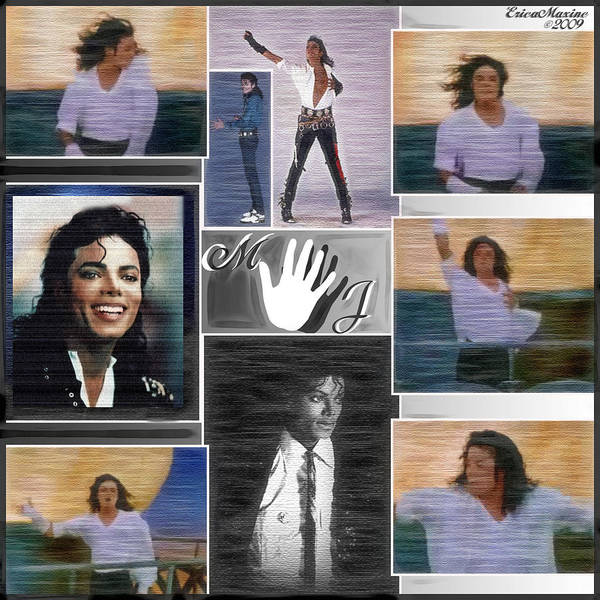 Digital Art - Michael Jackson by Ericamaxine Price