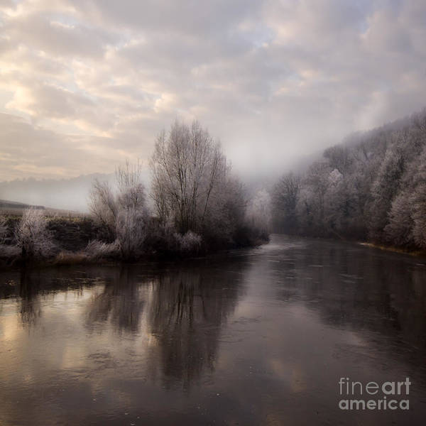 Wall Art - Photograph - Misty Sunset by Angel Ciesniarska