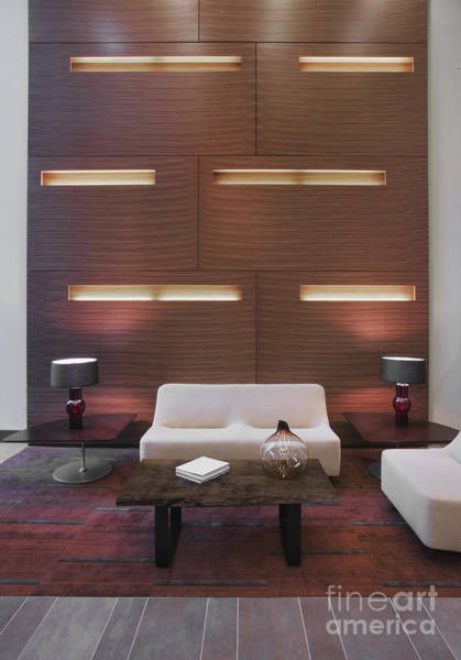 Accent Photograph - Modern, Asian-inspired Seating Area by Andersen Ross