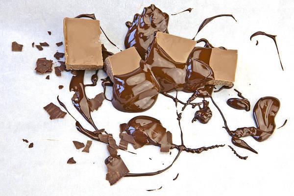 Chocolate Chips Wall Art - Photograph - Molten Chocolate by Joana Kruse