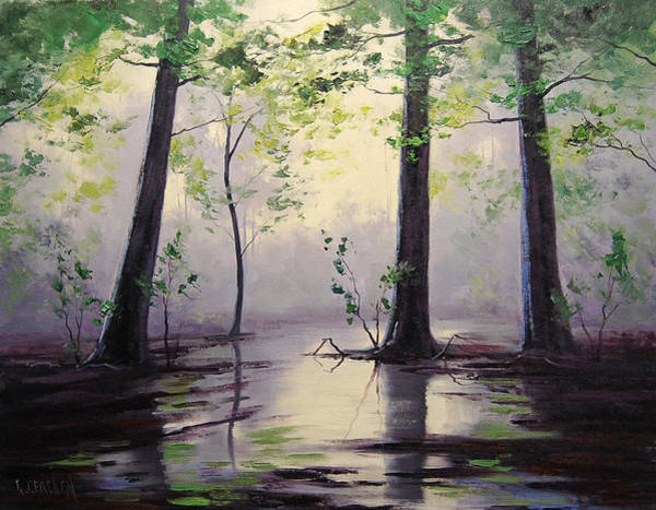 Swamp Wall Art - Painting - Montana Swamp by Graham Gercken
