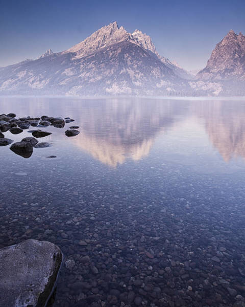 Mountain Peak Wall Art - Photograph - Morning Calm by Andrew Soundarajan