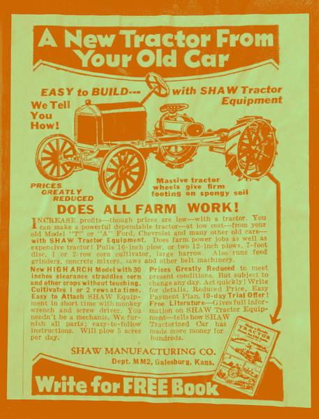 Photograph - Multipurpose Vehicle Advert I by Richard Reeve