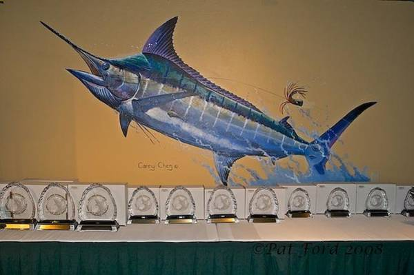 Big Island Painting - Mural In St Thomas by Carey Chen