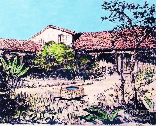 My Adobe Hacienda Art Print