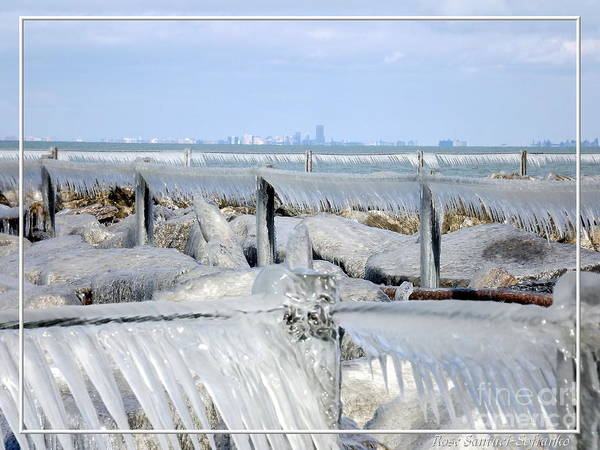 Photograph - Natures Ice Sculptures 12 by Rose Santuci-Sofranko