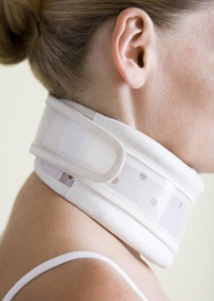Neck Brace Photograph - Neck Collar by Cristina Pedrazzini