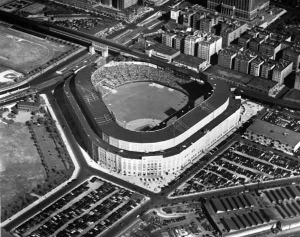 Photograph - New York: Yankee Stadium by Granger