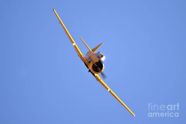 Harvard Propeller Photograph - North American Aviation T-6 Texan  by Nir Ben-Yosef
