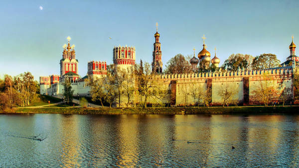 Photograph - Novodevichy Convent by Michael Goyberg