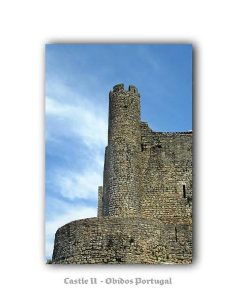 Photograph - Obidos Castle II Portugal by John Shiron