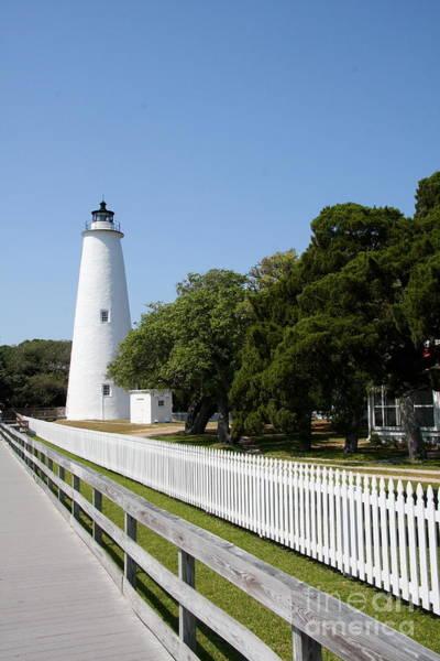 Ocracoke Lighthouse Photograph - Ocracoke Lighthouse by Christiane Schulze Art And Photography