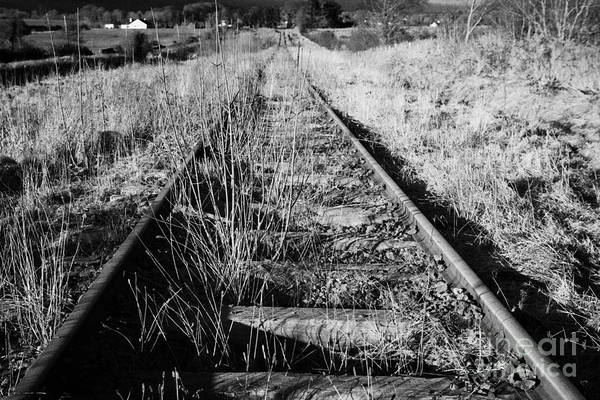 Gs Photograph - Old Abandoned Great Southern And Western Railway Line In County Sligo Republic Of Ireland by Joe Fox