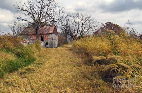Photograph - Old Barn by Richard Nickson