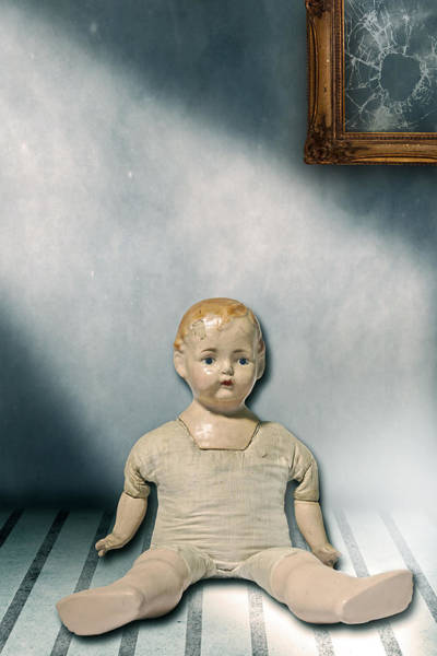 Shattered Photograph - Old Doll by Joana Kruse