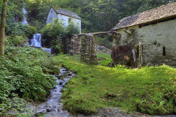 Ticino Photograph - Old Watermill by Joana Kruse