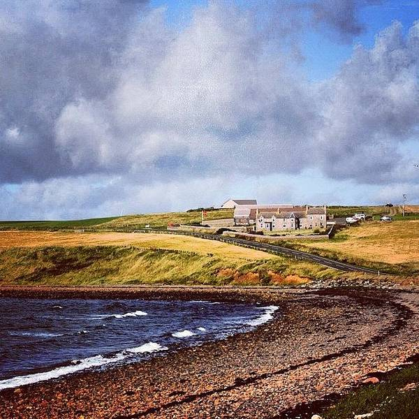 Sea Photograph - #orkney Islands by Luisa Azzolini