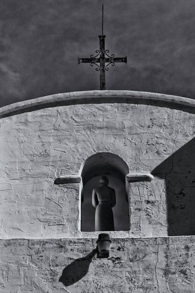 Photograph - Padre In Tower by Tom Singleton