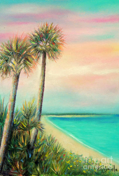 Wall Art - Pastel - Pass-a-grille Beach by Gabriela Valencia