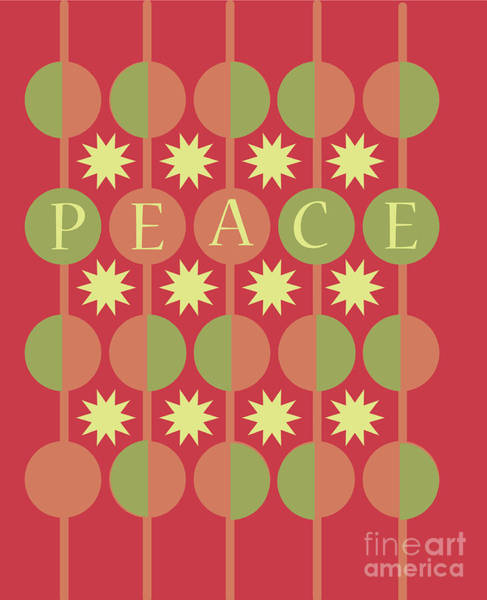 Christmas Digital Art - Peace by HD Connelly
