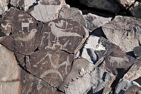 Photograph - Petroglyphs by Melany Sarafis