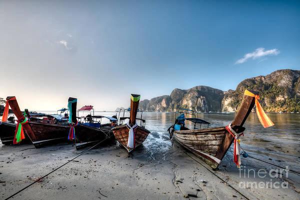 Phi Photograph - Phi Phi Island by MotHaiBaPhoto Prints