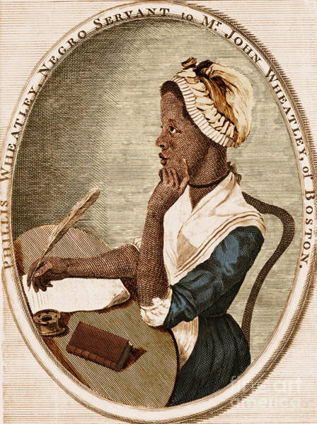 Photograph - Phillis Wheatley by Photo Researchers