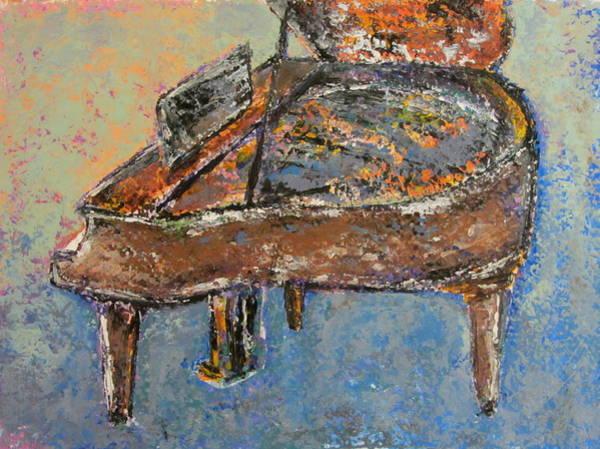 Painting - Piano Study 1 by Anita Burgermeister