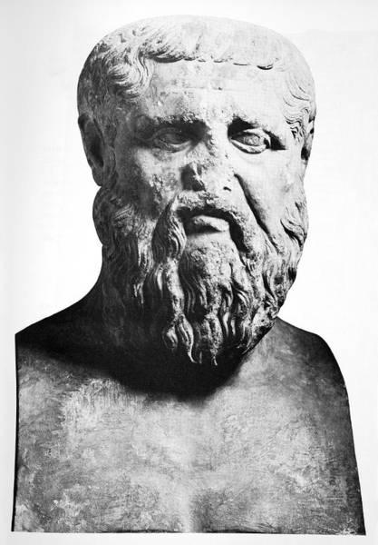 Dialogue Photograph - Plato, Ancient Greek Philosopher by