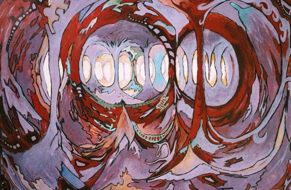 Tacoma Painting - Plato's Cave Of Strange Light by Charles Munn