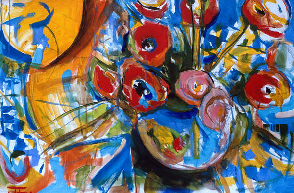Painting - Poppies by John Jr Gholson
