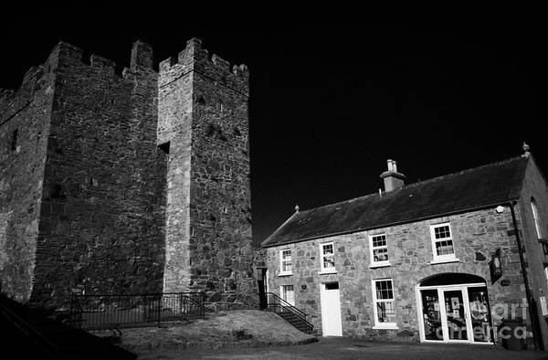 Wall Art - Photograph - Portaferry Castle And Tourist Information Centre County Down Northern Ireland by Joe Fox