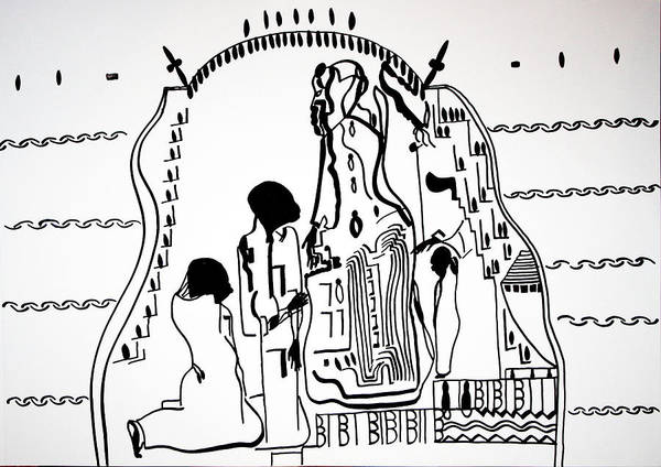 Presentation Of Jesus In The Temple Art Print