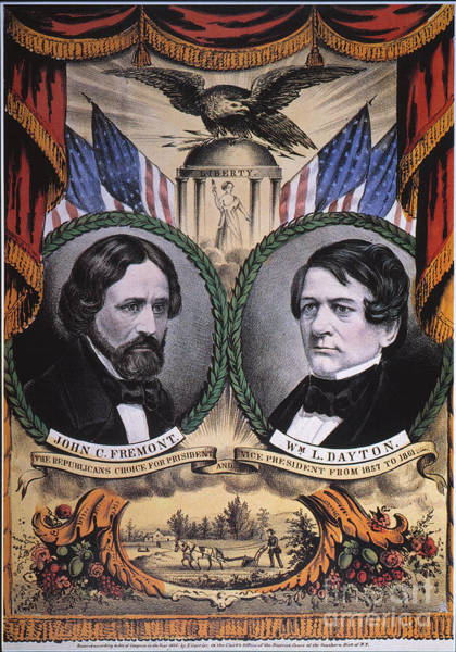 Wall Art - Photograph - Presidential Campaign, 1856 by Granger