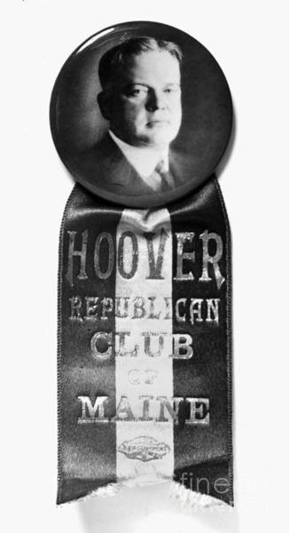 Photograph - Presidential Campaign, 1928 by Granger