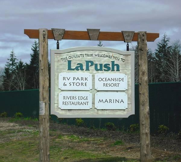 Quileute Reservation La Push Art Print
