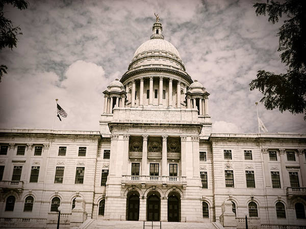 Photograph - Ri State House by Lourry Legarde